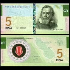 Bougainville Island 2016 - 5 kina UNC - Carte de calatorie
