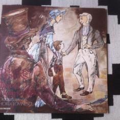 Charles Dickens David Copperfield disc vinyl lp poveste dramatizare de lovinescu - Muzica pentru copii electrecord, VINIL