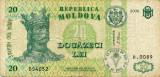 MOLDOVA 20 LEI 2006, stare VF