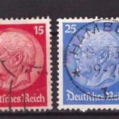 Deutsches Reich 1932 - Mi467-473 serie stampilata