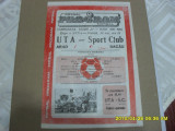 program        UTA  - SC  Bacau