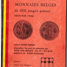Catalog de buzunar - monede Belgia 1832-1988