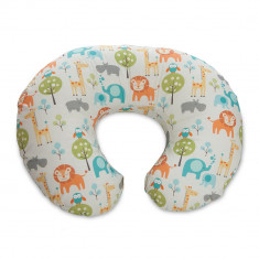 Perna alaptare Chicco Boppy 4 in 1, Peaceful Jungle - Perna alaptat