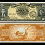 Filipine 1949 - 20 pesos UNC - bancnota asia