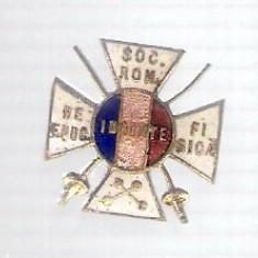 Insigna Societatea Romana de Educatie Fisica, regalista