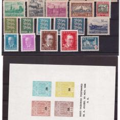 Estonia - lot timbre vechi, nestampilate, cota mare