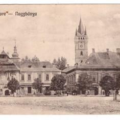 Baia Mare 1923 - Ilustrata circulata - Carte Postala Maramures dupa 1918
