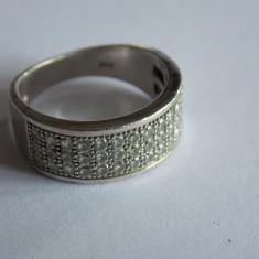 Inel de argint cu zirconii -136 - Inel argint