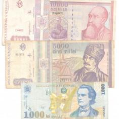 Romania - lot bancnote circulate