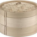 Cos bambus pentru fiert in abur