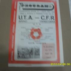 program     UTA  -   CFR  Timisoara