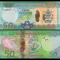 Solomon Islands 2013 - 50 dollars UNC, hibrid