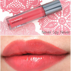 Luciu de buze MAC Huggable Glass Nuanta Never Say Never - Gloss buze Mac Cosmetics