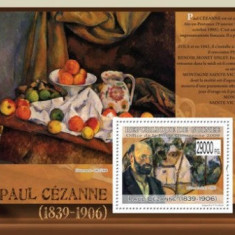 Guinea 2009 - pictorul Paul Cezanne, colita neuzata
