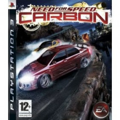 Need For Speed Carbon Ps3 - Jocuri PS3 Electronic Arts, Curse auto-moto, 12+