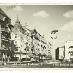 Timisoara 1940 - bvd Ferdinand - Carte Postala Transilvania dupa 1918