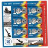 2016 - Centenarul artileriei si rachetelor AA, minicoala neuzata