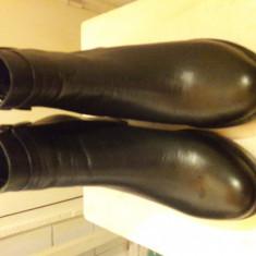 Ghete dama Made in Italia, Culoare: Negru, Marime: 39