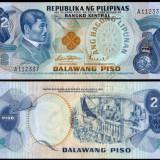 Filipine 1978 - 2 piso UNC - bancnota asia