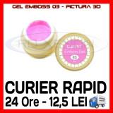 GEL EMBOSS CANNI 03 - PICTURA 3D PT LAMPA UV, MANICHIURA GEL, GELURI COLOR - Gel unghii Sina