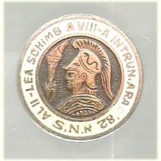 Insigna Schimb Insigne Arad 1982