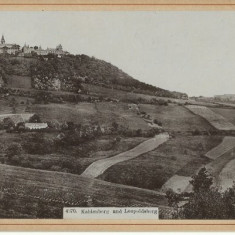 Foto 1897 Viena - Leopoldsberg - Fotografie