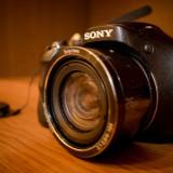 Aparat foto digital Sony Cyber-Shot DSC-H300, 20.1MP, Black - Aparat Foto compact Sony
