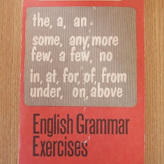 ENGLISH GRAMMAR EXERCISES- CHITORAN - Curs Limba Engleza Altele