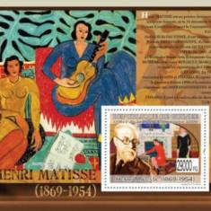 Guinea 2009 - pictorul Henri Matisse, colita neuzata