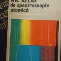 MIC ATLAS DE SPECTROSCOPIE ATOMICA - Carte Fizica