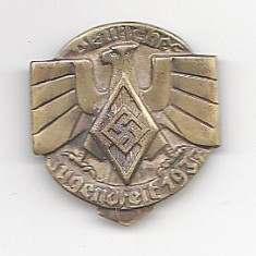 Insigna Jugendfest 1937, svastica