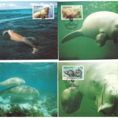 Vanuatu 1988 - Fauna WWF, serie maxime
