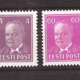 Estonia 1936 - Mi124, 126 nestampilate
