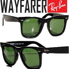 Ochelari de soare WAYFARER ray ban - Ochelari de soare Ray Ban, Unisex, Verde, Plastic