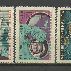 Vietnam 1962 - cosmonauti, serie neuzata - Timbre straine
