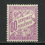 SERIE MONACO PORTO--1934 MNH, Nestampilat