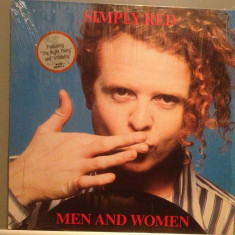 SIMPLY RED - MEN AND WOMEN (1987/WARNER REC/RFG) - Vinil/Vinyl/Impecabil (NM) - Muzica Pop