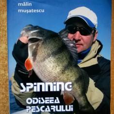 Malin Musatescu - Spinning Odiseea pescarului digital