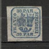 Romania.1864 Principatele Unite 30 Parale  XR.1, Nestampilat