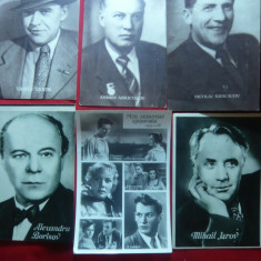 Lot 9 Fotografii - Mari Actori Sovietici anii '50-'60 - Autograf