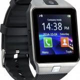 Smartwatch Dz09-cartela SIM, camera-garantie 24luni +bratara fitness cadou, Aluminiu, watchOS