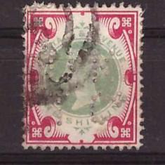 Marea Britanie 1900 - 1Sh stampilat, Mi101