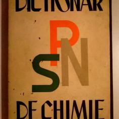Grigore Balanescu - Dictionar de chimie - Carte Chimie