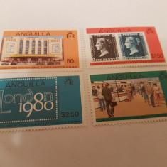 Anglia/colonii/anguilla 1979 expozitie - Timbre straine, Nestampilat