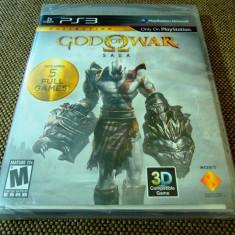 Joc God of War Saga, PS3, original, alte sute de jocuri! - Jocuri PS3 Sony, Shooting, 18+, Single player
