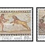 Cipru 1989 - Mosaics, serie neuzata 3