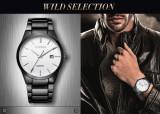 Cumpara ieftin Ceas Barbati Luxury Business CURREN Bratara Metalica JAPAN MOVEMENT CALENDAR etc, Casual, Quartz, Inox