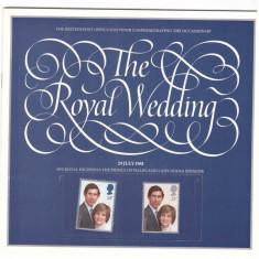 Anglia 1981 - Royal Wedding, brosura comemorativa