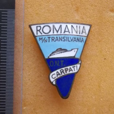 Insigna Motonava Transilvania, ONT Carpati