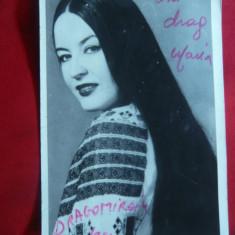 Fotografie dedicatie si autograf - Maria Dragomiroiu